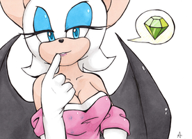 Rouge the Bat by UnknownSpy