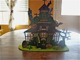 The Burton sister's hunted house by cabcyco