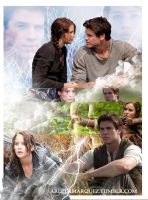 Gale Y Katniss by Arleth2000