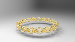 36 Link Gold Faceted Chain by Tate27kh