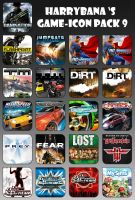 Game Aicon Pack 9 by HarryBana