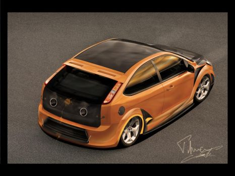 Ford Focus 4Tuning Days Back by enth3os