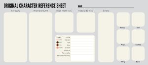 OC Sheet Template by Zippora