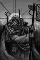 ++ Techpriest ++ by Captain-Asparagus