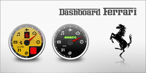 Dashboard Ferrari by whyred