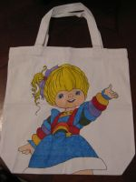Rainbow Brite - Iridella - Canvas Tote Bag by Anthro7