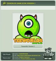 Teeworlds Icon v2 by CODEONETEAM