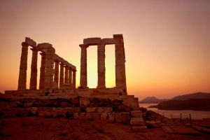 Temple of Poseidon by densss