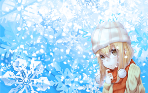Awesome winter time wallpaper by EvianManga