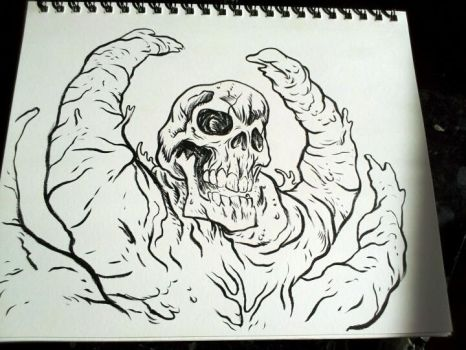 First drawing of 2012 by ButchAdams