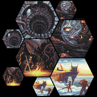 Russian Hexquisite Collab Tiles by orange-magik