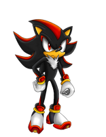 Shadow The Hedgehog - Transparent by Shadoukun