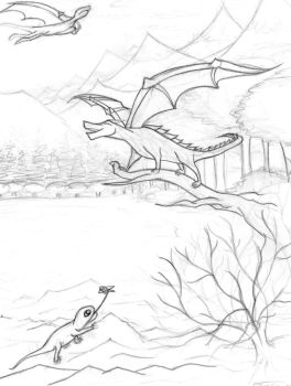The Dragon's World by MaddyInVisibLe