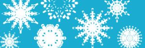 Snowflake Photoshop Brushes by mfcreative