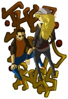 The ting tings by Jey09