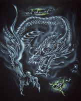 DRAGON TATTOO by DMaerografie
