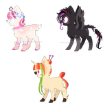 ~Adoptable~ Pony 130 -- 132 [AUCTION]  :CLOSED: by Xanty-Adopts