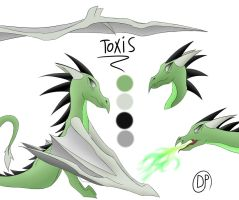 Toxis Reference by dragonsponies