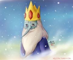 Smile, Ice king by Meli1794