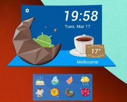 Android Dessert HD for xwidget by jimking