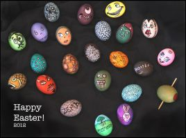 Easter Eggs 2012 by RandyHand