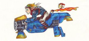 Jak on a Zoomer FULL by Phantom--Wolf