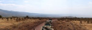 Africa: Panorama 09 by Peetie