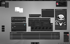 VICO desktop by invaderjohn