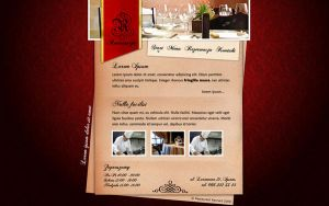 Restaurant Layout by revn89