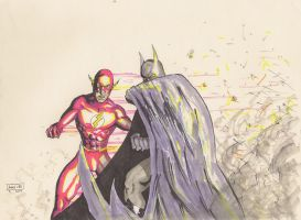 Batman-Flash-markers by Andre-VAZ