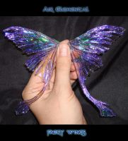 Air Elemental faery wings 2 by S0WIL0