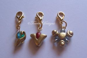 Spiritual Stones Charm 2 ZELDA by TorresDesigns