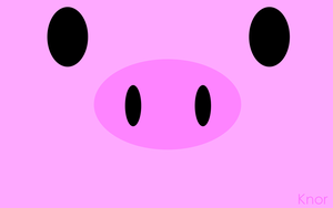 Knor, piggy by Eowalin