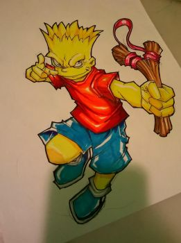 Bart Simpson by 8rtman11