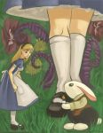 Alices White Rabbit by victoria-ying
