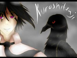 Sebastian Michaelis -Kuro poster by glowy-colors-lova-8D