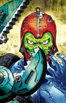 MOTU: Trap Jaw by FelipeSmith