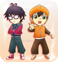 Happy 1st Anniversary BoBoiBoy! by ryocutema