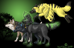 The Pack by WolfGlow