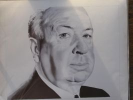 alfred hitchcock ballpoint by kc7655