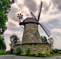 Old windmill by Sedorrr