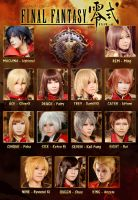 Final Fantasy Type-0 by H-I-T-O-M-I
