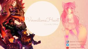 My personal Offline wallpaper by VermilionsHeart