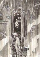 Rainy Gotham by AaronTP
