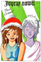 X-Mas - Gift for Skhasia - Khalen and Crystale by Cey-J