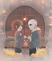 [Undertale] It's a promise! by candiecandle