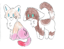 Litter of kittens for Laise1031 by Wickaii