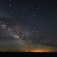 North Rim Milky Way by DoomWillFindYou
