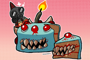 CAKE TUMORS by Dragonith