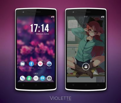 Violette by Vipitus